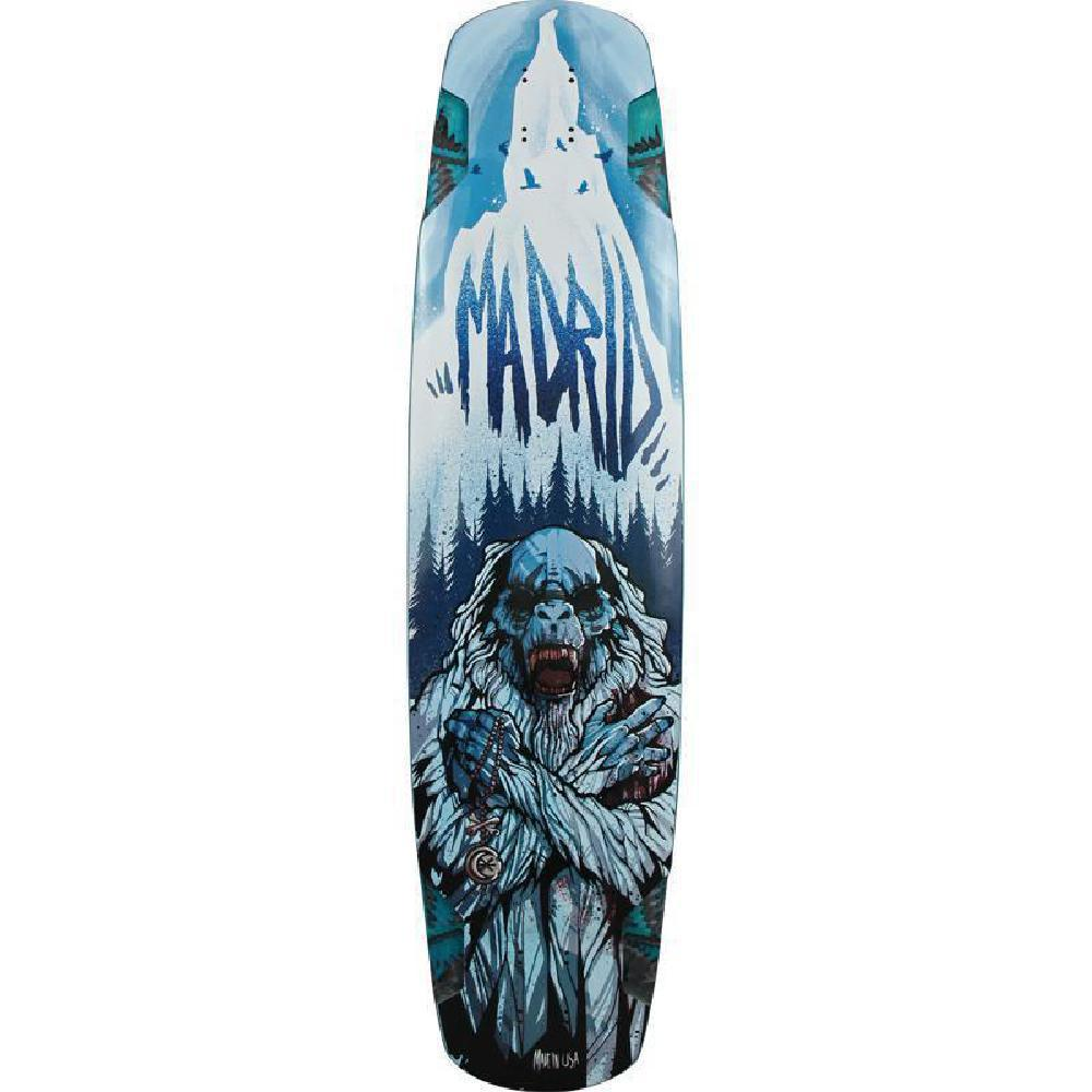 "Madrid Yeti 38"" Legendary Longboard - Longboards USA"
