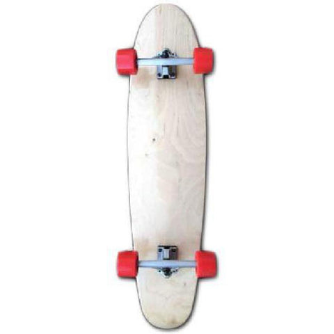 "Maple Big Kick Longboard 40"" x 9.5"" - Complete - Longboards USA"