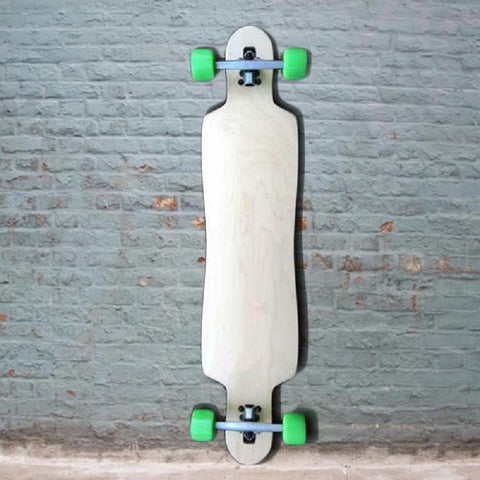 "Maple Drop Through Longboard 42.75"" x 10"" - Complete - Longboards USA"