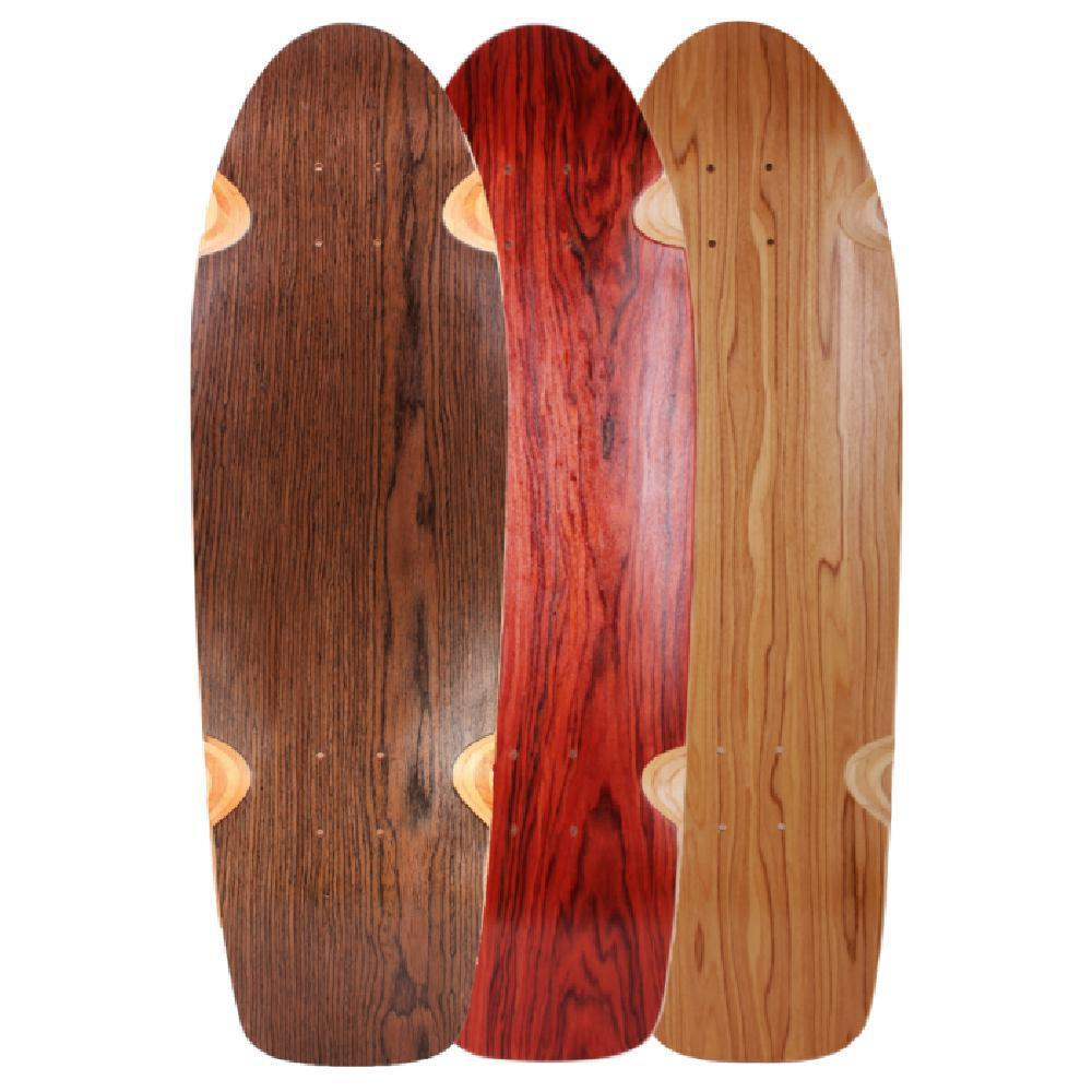 "Mini Kicktail 30"" Specialty Wood Longboard Cruiser Deck - Longboards USA"