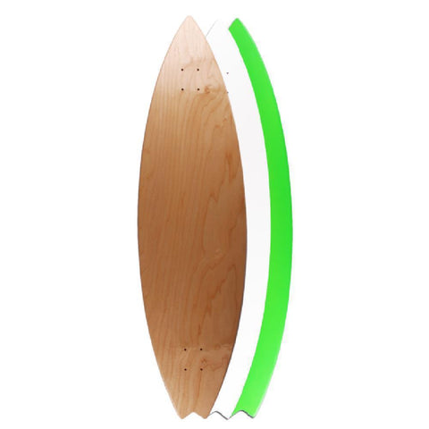 "Natural 42"" Surf Longboard Deck - Longboards USA"