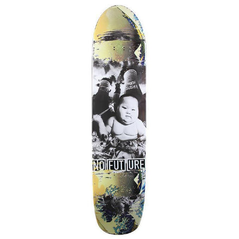 "No Future DK 38"" Sushi Longboard Skateboard Deck - Longboards USA"