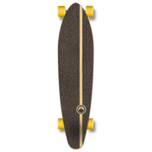 "Owl 40"" Kicktail Longboard from Punked - Complete - Longboards USA"