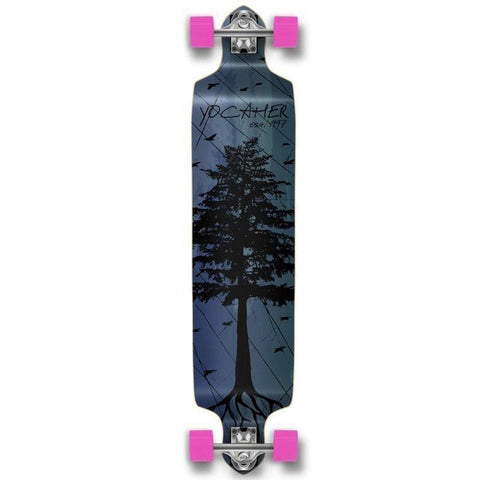 Pines Blue Drop Down Longboard 41 inches Complete - Longboards USA