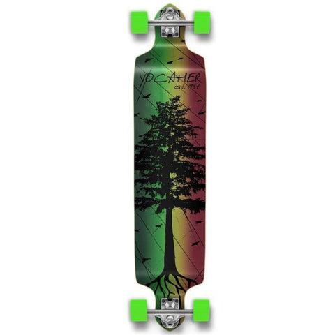 Pines Rasta Drop Down Longboard 41 inches Complete - Longboards USA