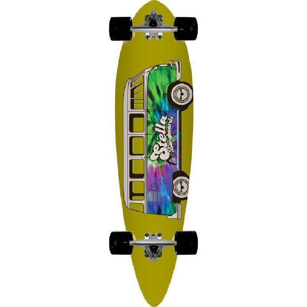"Pintail Longboard Blunt Nose Dazed and Confused 38"" Stella Complete - Longboards USA"