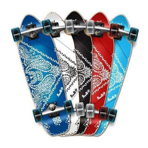 Punked Bandana Mini Cruiser Board 27 inch - Longboards USA