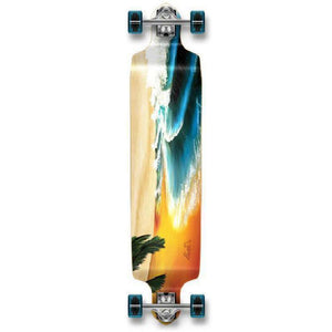 "Punked Beach 40"" Drop Down Longboard - Longboards USA"