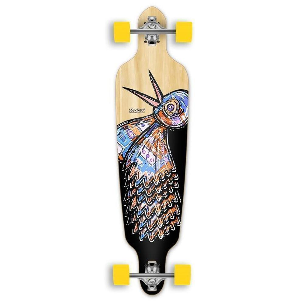 Punked Bird 40 inches Natural Drop Through Longboard - Longboards USA