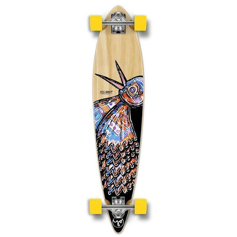 Punked Bird 40 inches Natural Pintail Longboard - Longboards USA