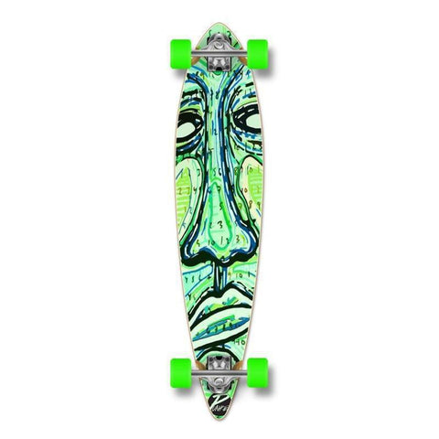 "Punked Countdown Pintail 40"" Longboard - Longboards USA"