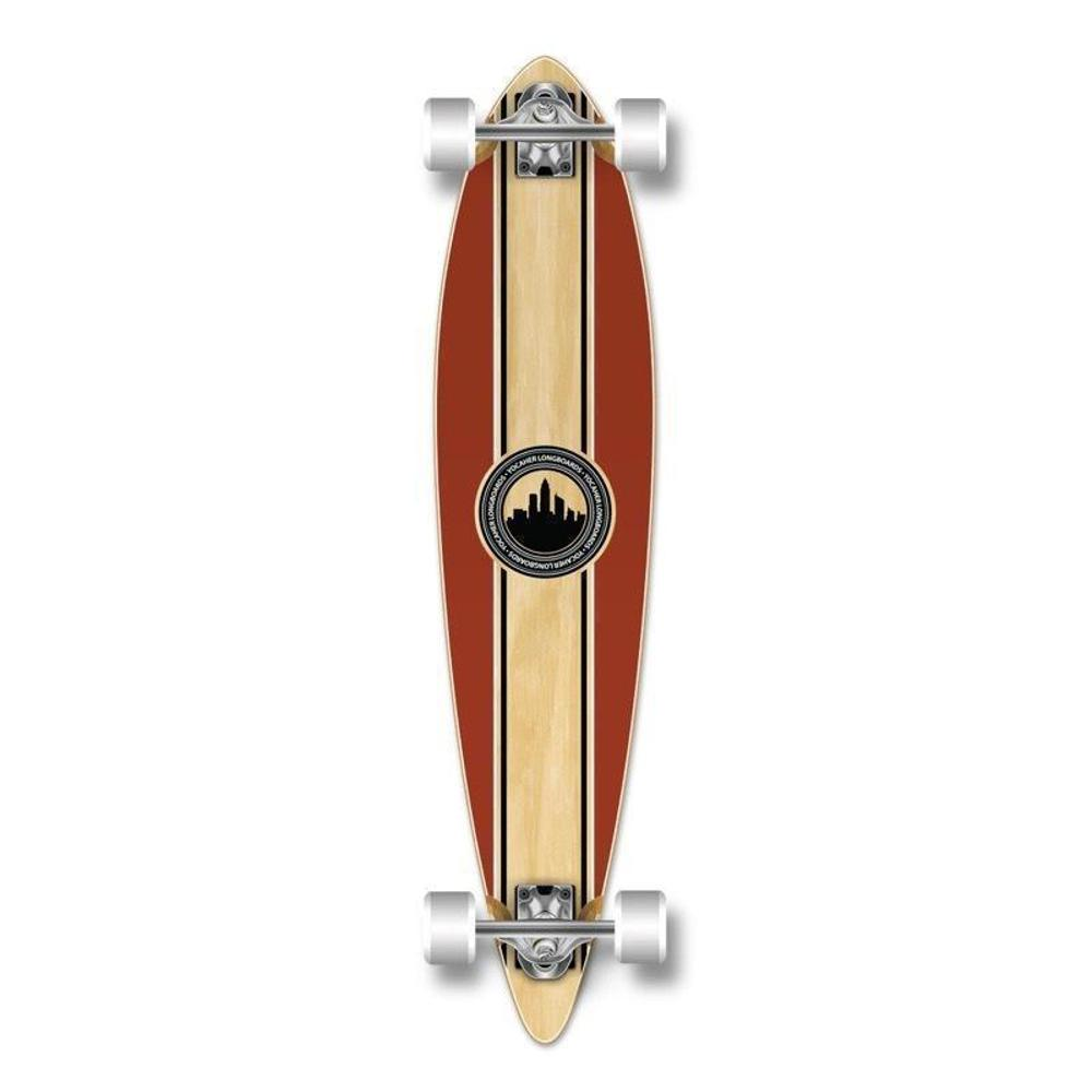 "Punked Crest Pintail 40"" Longboard - Longboards USA"
