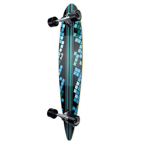 Punked Digital Wave Pintail Longboard 40 inch - Complete - Longboards USA