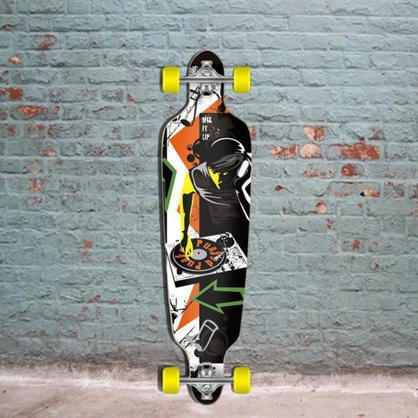 "Punked DJ Drop Through 40"" Longboard - Complete - Longboards USA"