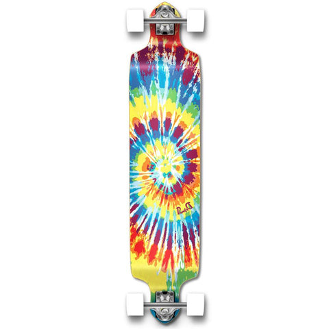 Punked Drop Down Tiedye Original Longboard Complete - Longboards USA