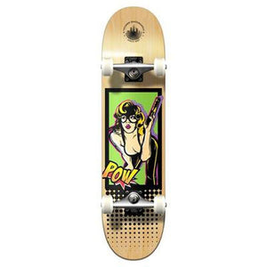 Punked Graphic Complete Skateboard - Comix Series - Bandit - Longboards USA