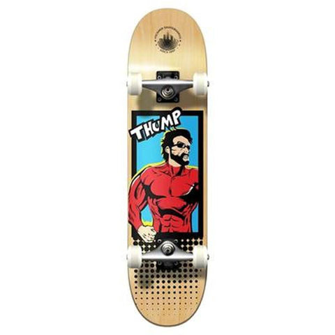 Punked Graphic Complete Skateboard - Comix Series - Thunder - Longboards USA