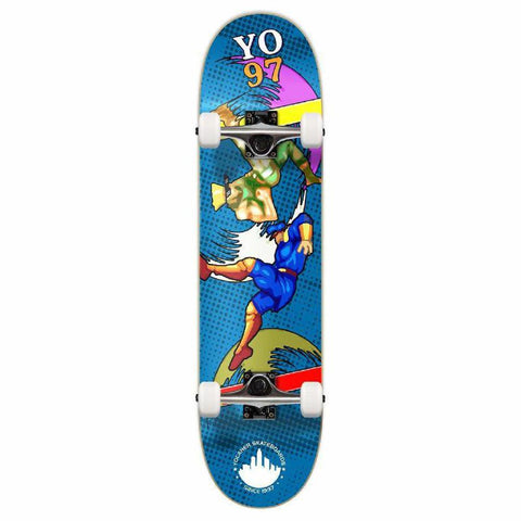 Punked Graphic Complete Skateboard - Retro Series - Bralwer - Longboards USA