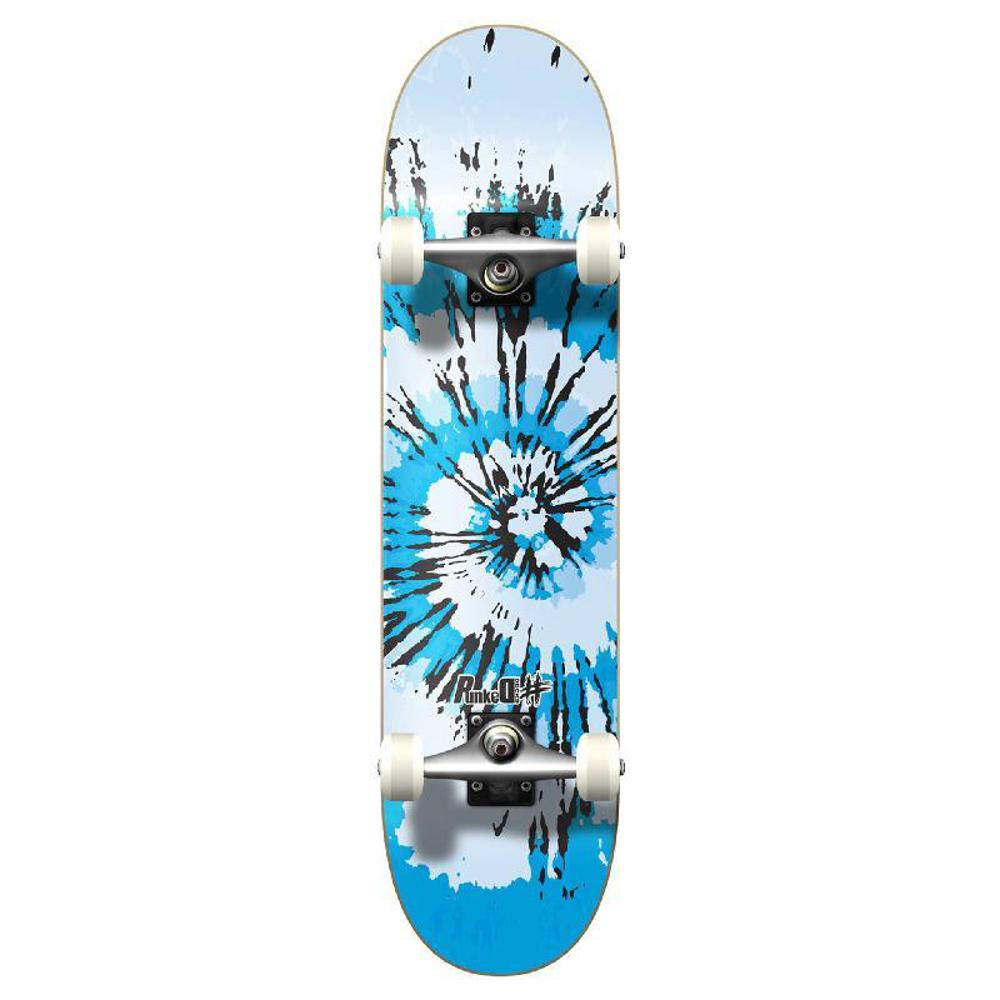 Punked Graphic Complete Skateboard - Tiedye Chill - Longboards USA