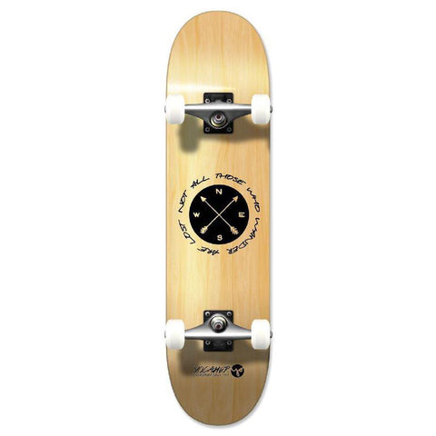 Punked Graphic Complete Skateboard - Wander Natural - Longboards USA
