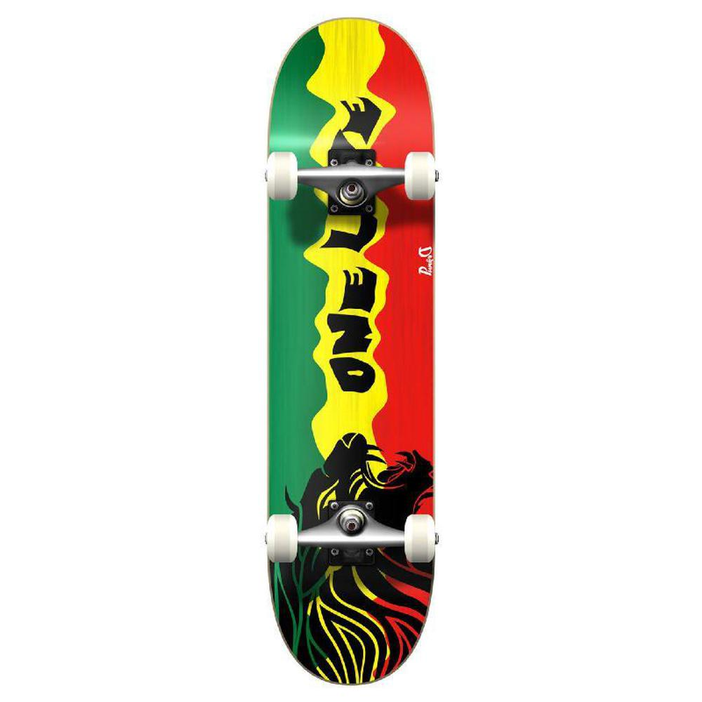 Punked Graphic Rasta 2 Complete Skateboard - Longboards USA