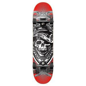 Punked Graphic Skull Hat Complete Skateboard - Longboards USA