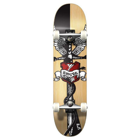 Punked Graphic Smite Complete Skateboard - Longboards USA