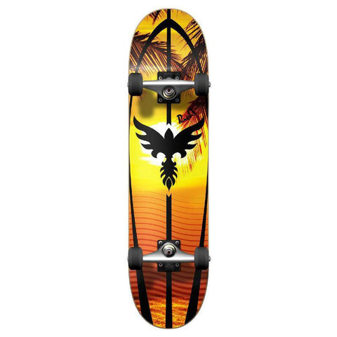 Punked Graphic Sunset Complete Skateboard - Longboards USA
