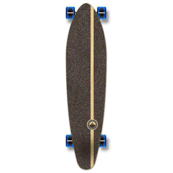 Punked Kicktail Beach Longboard Complete - Longboards USA