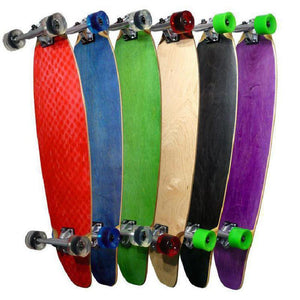 Punked Kicktail Longboard 40 inch - Complete - Longboards USA