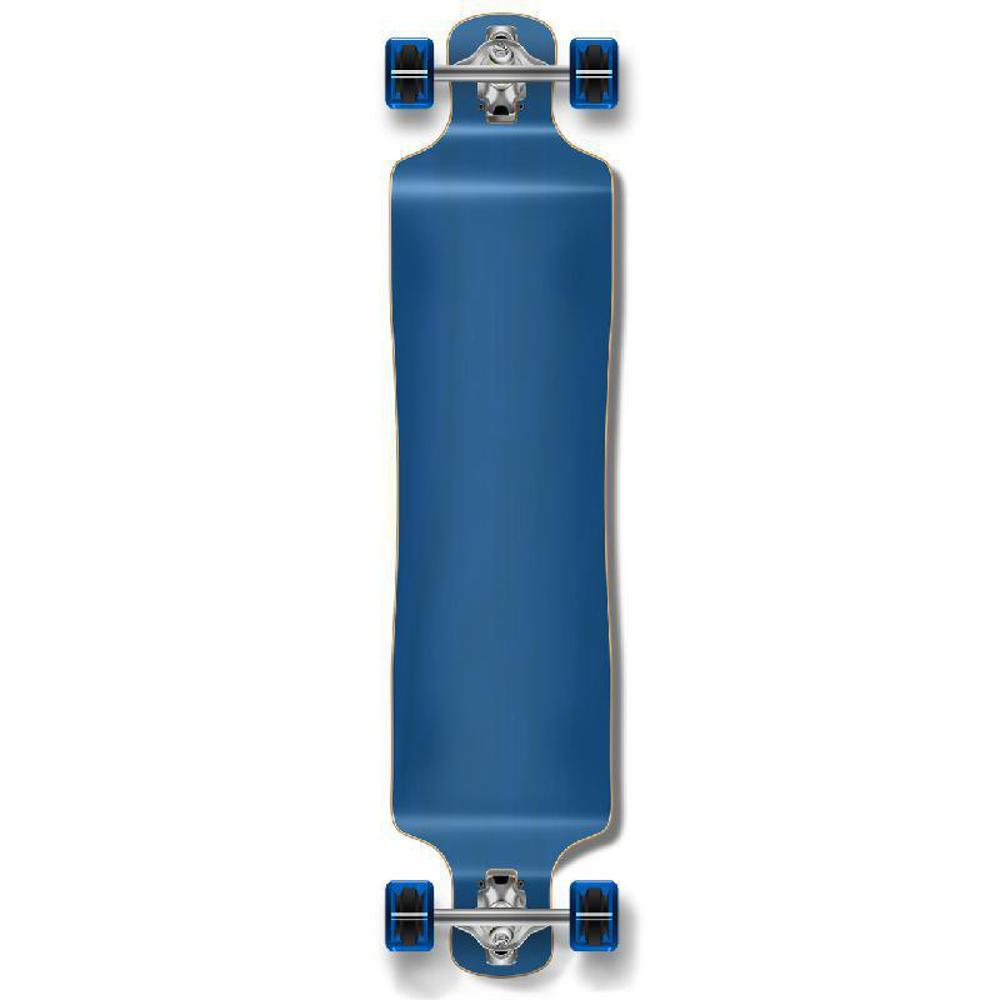 Punked Lowrider Blank Longboard Complete - Stained Blue - Longboards USA