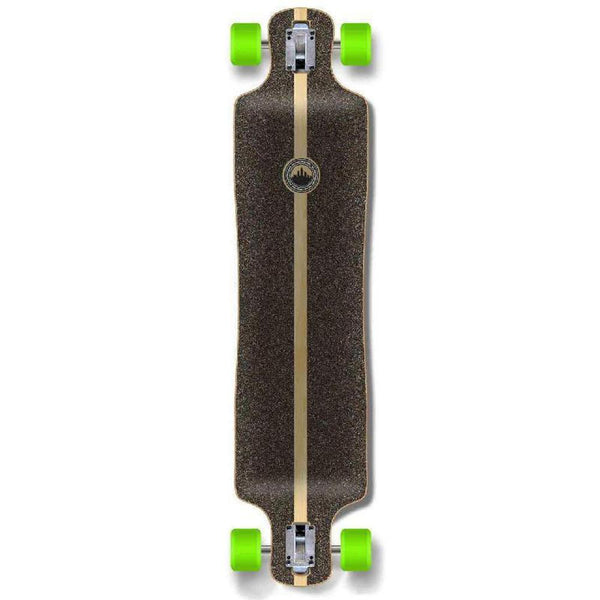 Punked Lowrider Blank Longboard Complete - Stained Purple - Longboards USA