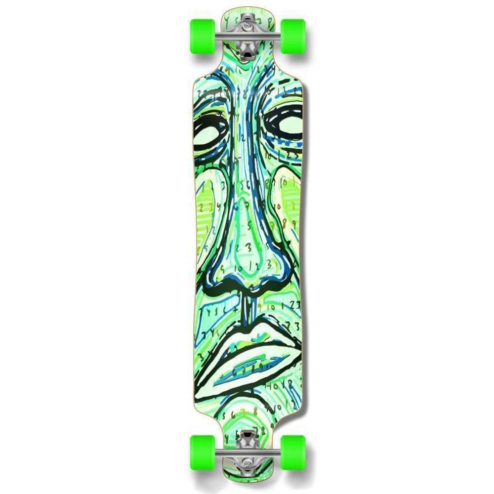 "Punked Lowrider Double Drop Countdown 40"" Longboard - Longboards USA"
