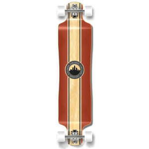 "Punked Lowrider Double Drop Crest 40"" Longboard - Longboards USA"