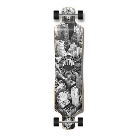 Punked Lowrider Double Drop Longboard New York - Longboards USA