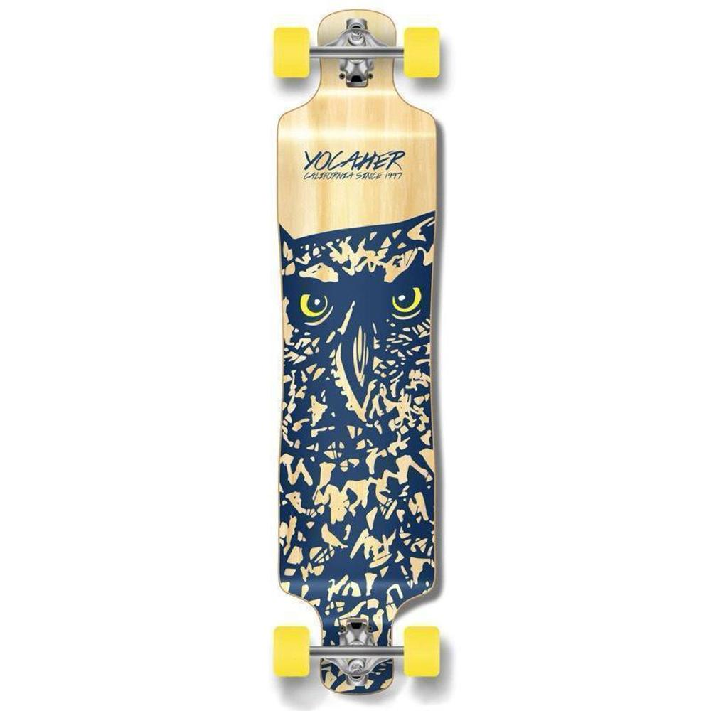 "Punked Lowrider Double Drop Owl 40"" Longboard - Longboards USA"