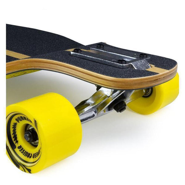 "Punked Lowrider Double Drop Sunset 40"" Longboard - Longboards USA"