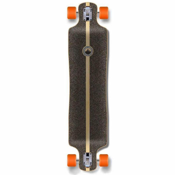 "Punked Lowrider Double Drop VW Blue N' Red 40"" Longboard - Longboards USA"