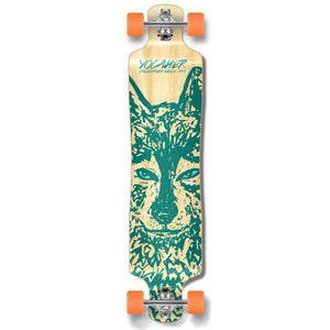 "Punked Lowrider Double Drop Wolf 40"" Longboard - Longboards USA"