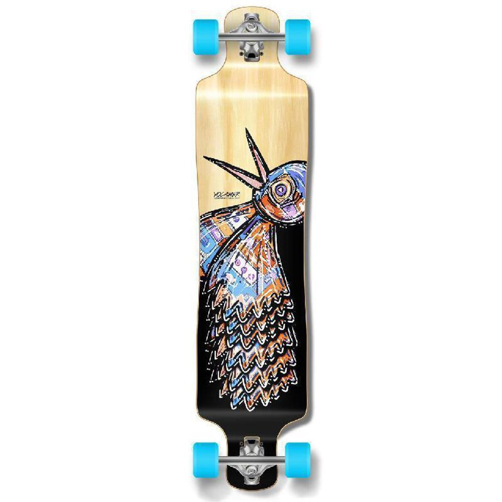 Punked Lowrider Longboard Complete - The Bird Natural - Longboards USA