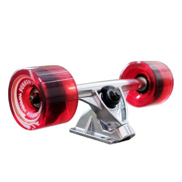 Punked Micro Cruiser Complete - Bandana Red - Longboards USA