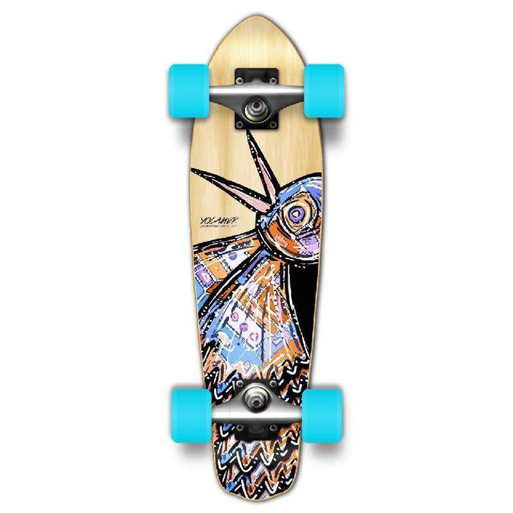 Punked Micro Cruiser Complete - The Bird Natural - Longboards USA