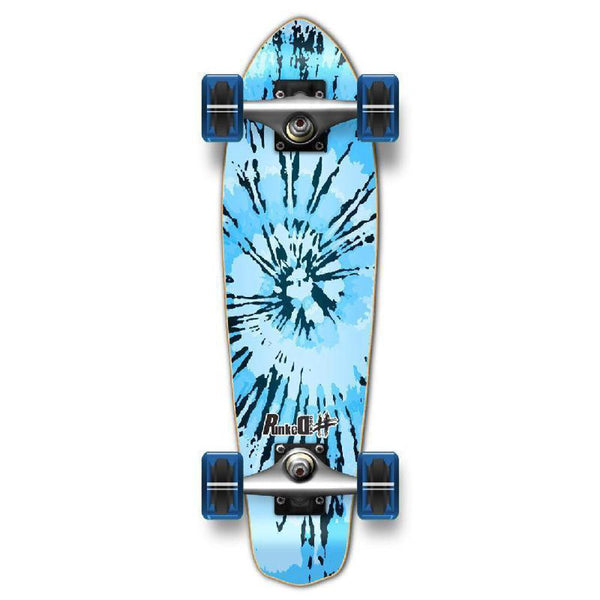 Punked Micro Cruiser Complete - Tiedye Chill - Longboards USA