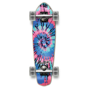 Punked Micro Cruiser Complete - Tiedye Lost - Longboards USA