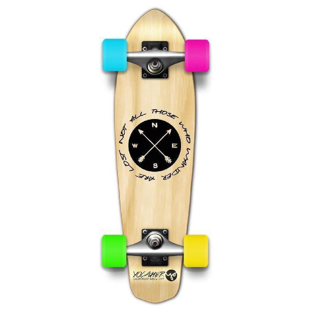 Punked Micro Cruiser Complete - Wander Natural - Longboards USA