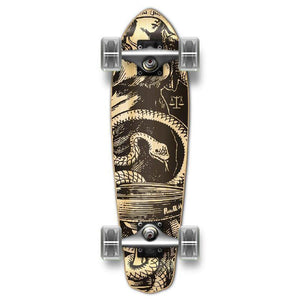 Punked Micro Cruiser Natural Blind Justice Complete - Longboards USA