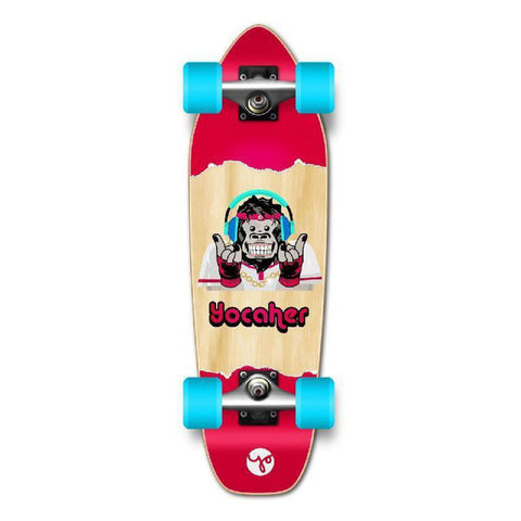 Punked Mini Cruiser Complete - Chimp Series - Hear No Evil - Longboards USA
