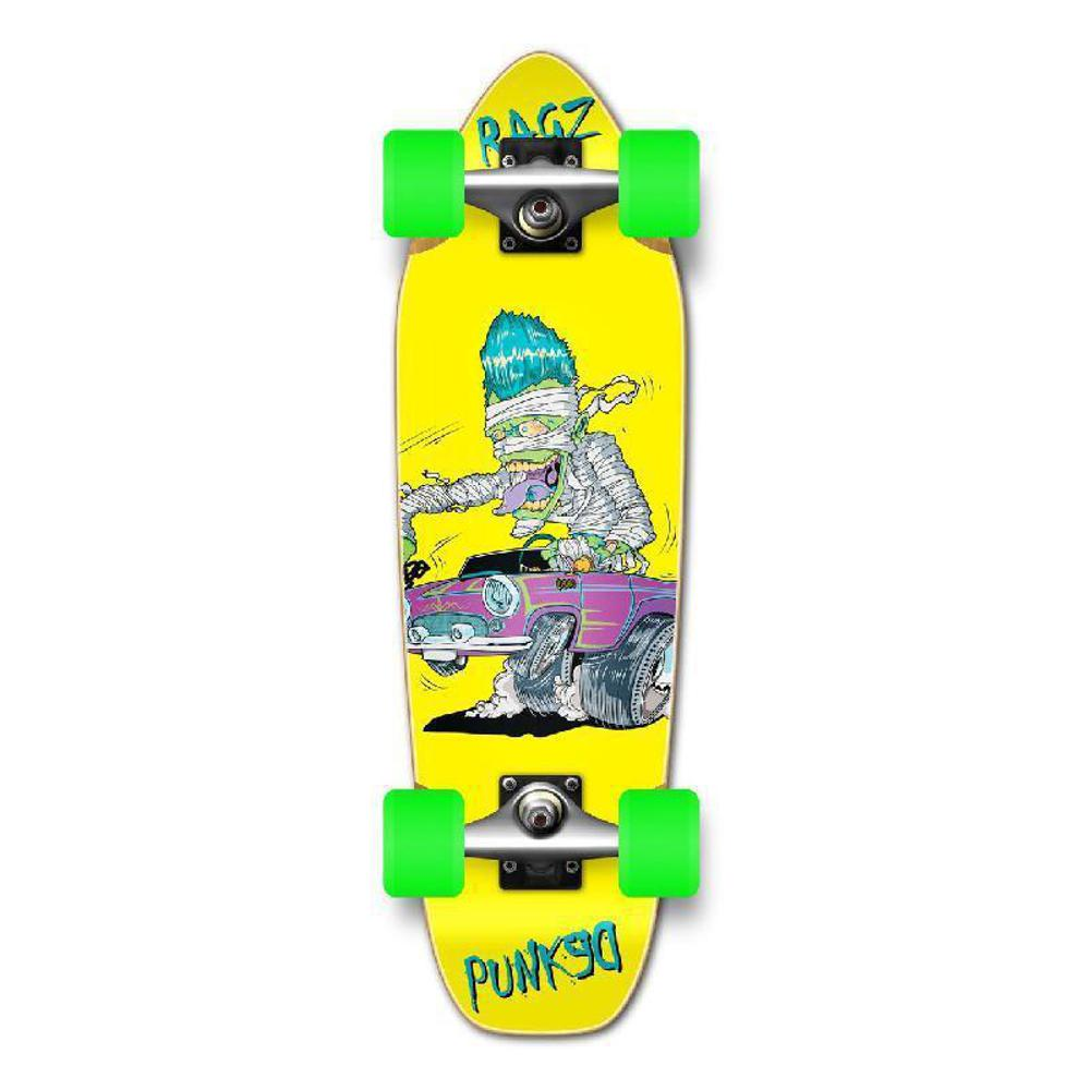 Punked Mini Cruiser Hot Rod Ragz Complete - Longboards USA