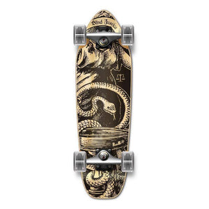 Punked Mini Cruiser Natural Blind Justice Complete - Longboards USA