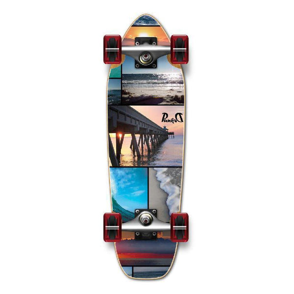 Punked Mini Cruiser Seaside Complete - Longboards USA